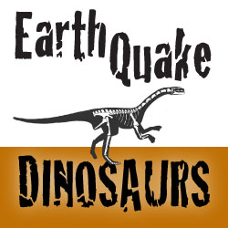 Earthquake Dinosaurs Logo