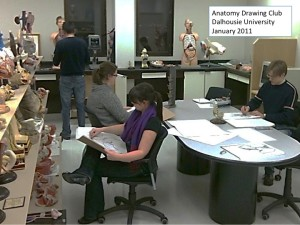 January2011 Anatomy Drawing Club